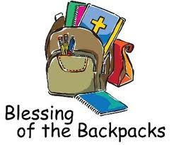 backpack blessing